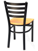 Ladder Back Metal Chair