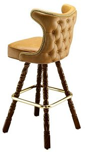 Cowboy Tufted Stool