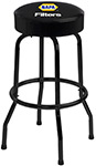 Black Frame Logo Bar Stool